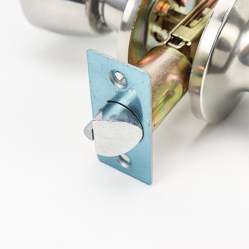 Stainless Steel Exterior Single Cylindrical Door Knob Locks HF-002