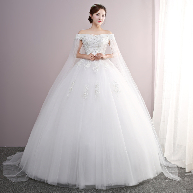 High quality wedding dress bridal gown wedding dress S-004