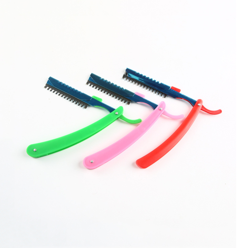 Various Color Curved Handles Women's Razor Portable Razor D-01