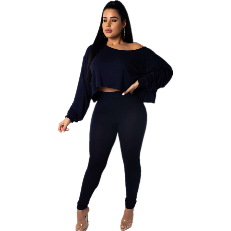 New autumn women clothing set shirt long trouser Fn-005