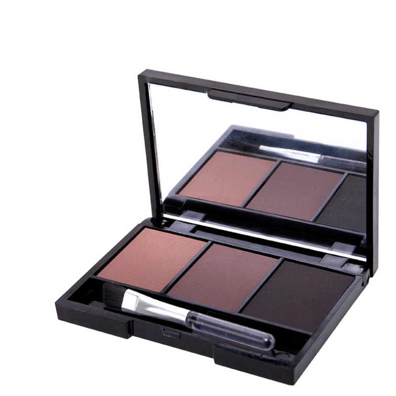 Hot sell 3 color eyebrow powder Wholesale 3 groups of colors Lasting Easy coloring Makeup MF-001