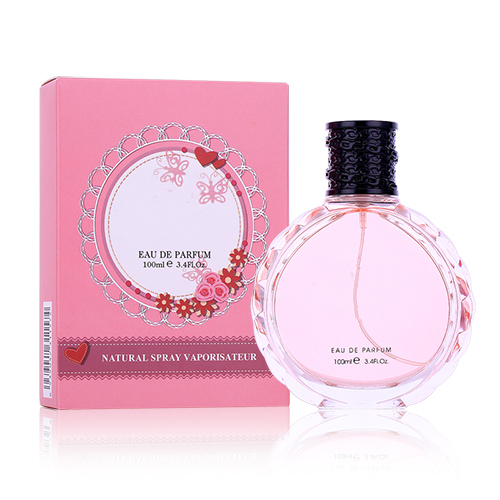 Long lasting women glass bottle body spray perfume XS-008