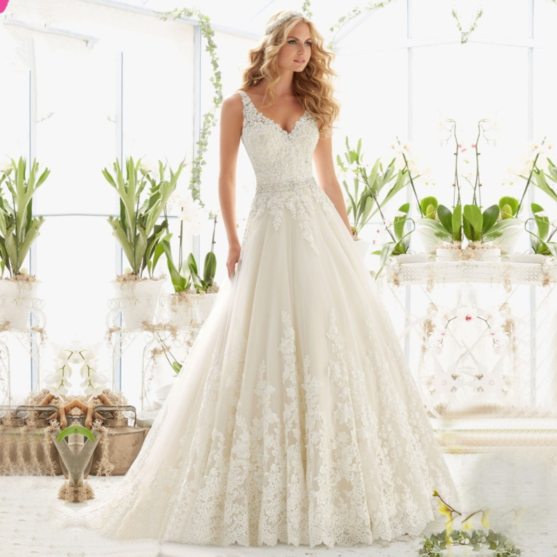 Hot style bride's fishtail tail sexy lace wedding dress H-002