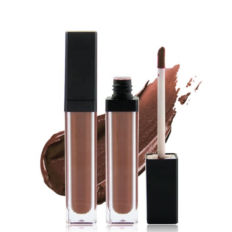 NO LOGO Low MOQ  OEM Liquid Gloss Vegan Glossy Clear lip balm Private Label Lipgloss