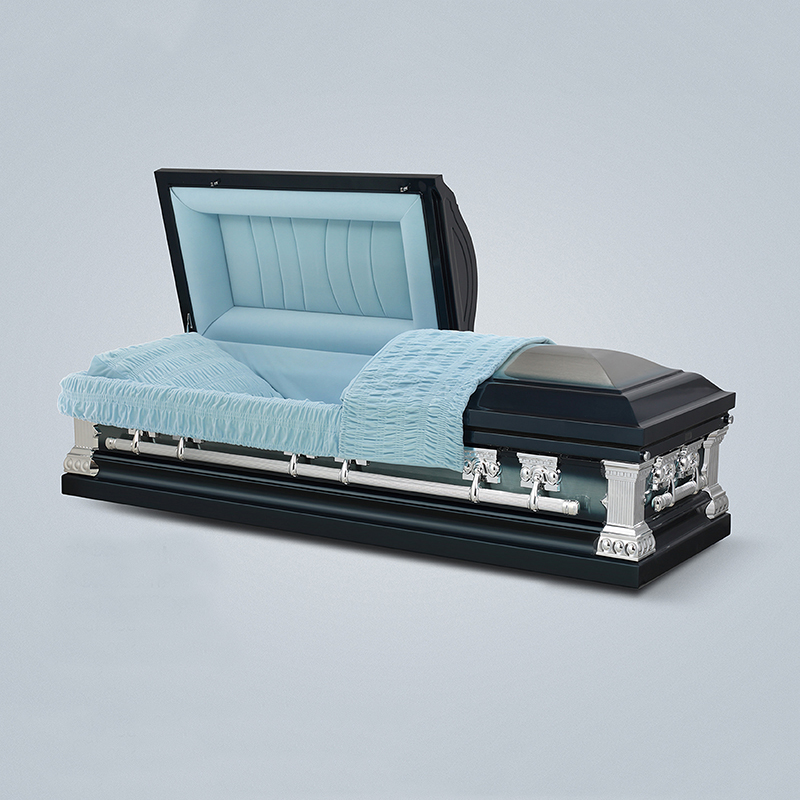 Best Quality Modern Style Funeral Metal Coffin Adult Coffin