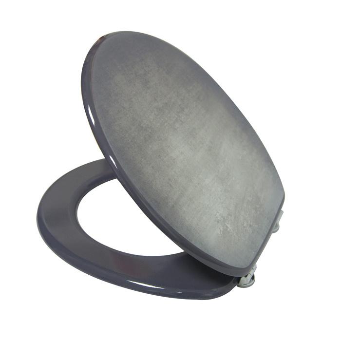 Pure Eco-Friendly MDF Flat Toilet Seat&Lid DW-033