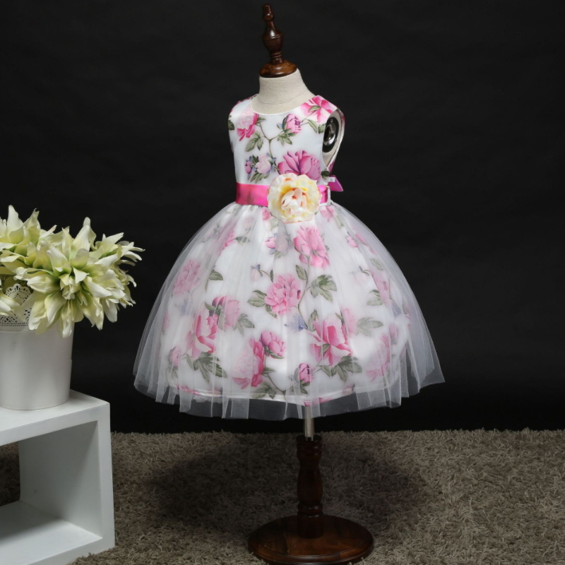 Flower Girl Party Tutu Dress to 7 Years Old Children  T-008