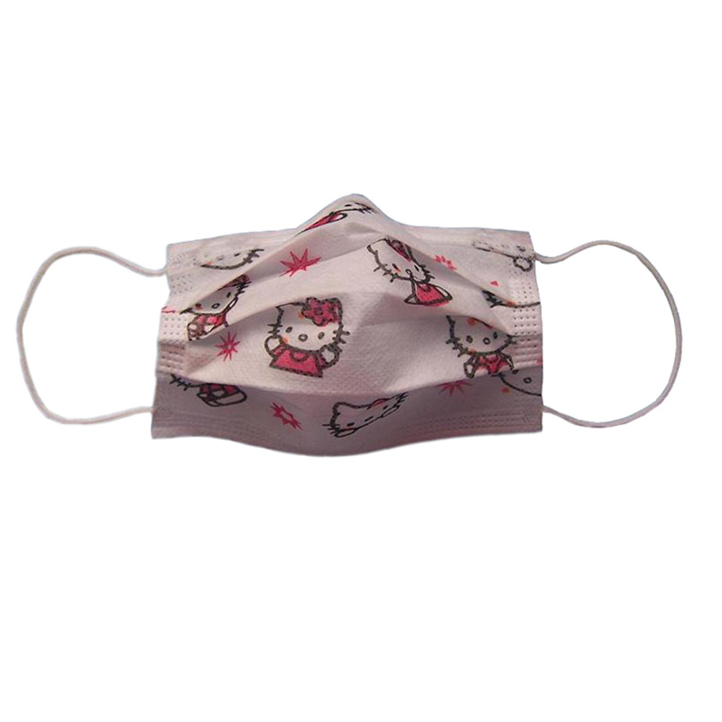 Mouth Cover Cartoon Printed Medical Mask TD-yhkz-08