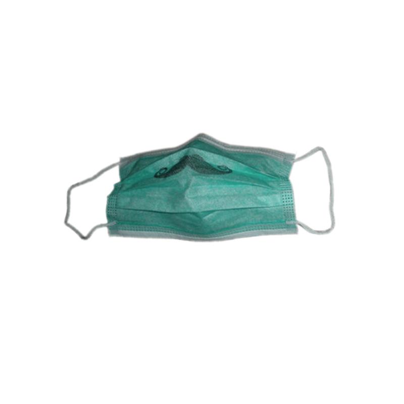 Hygiene Printed Dentist Nonwoven Mask  TD-yhkz-15