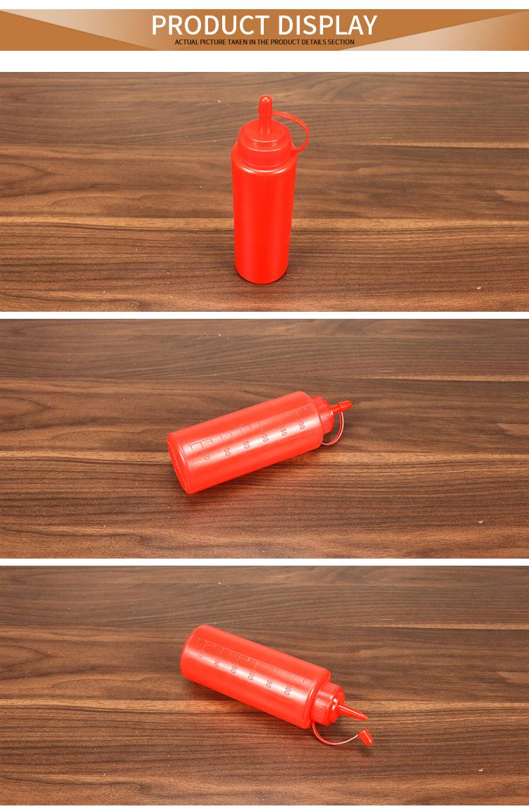 Cheap Plastic Sauce Squeeze Bottle  HD-FXTG
