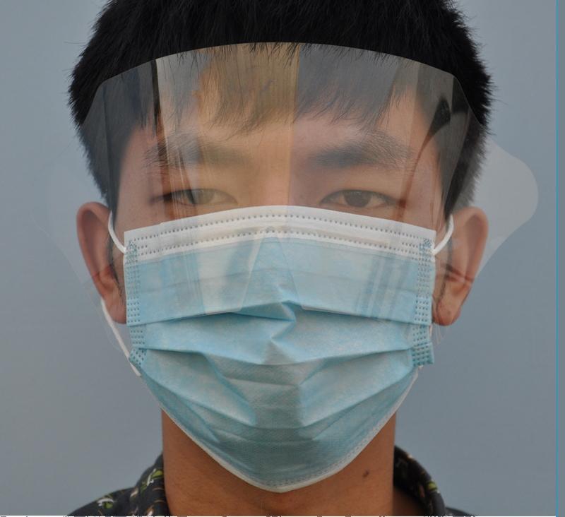 Funny Dental Face Mask With Eye Splash Shield TD-jpkz-01