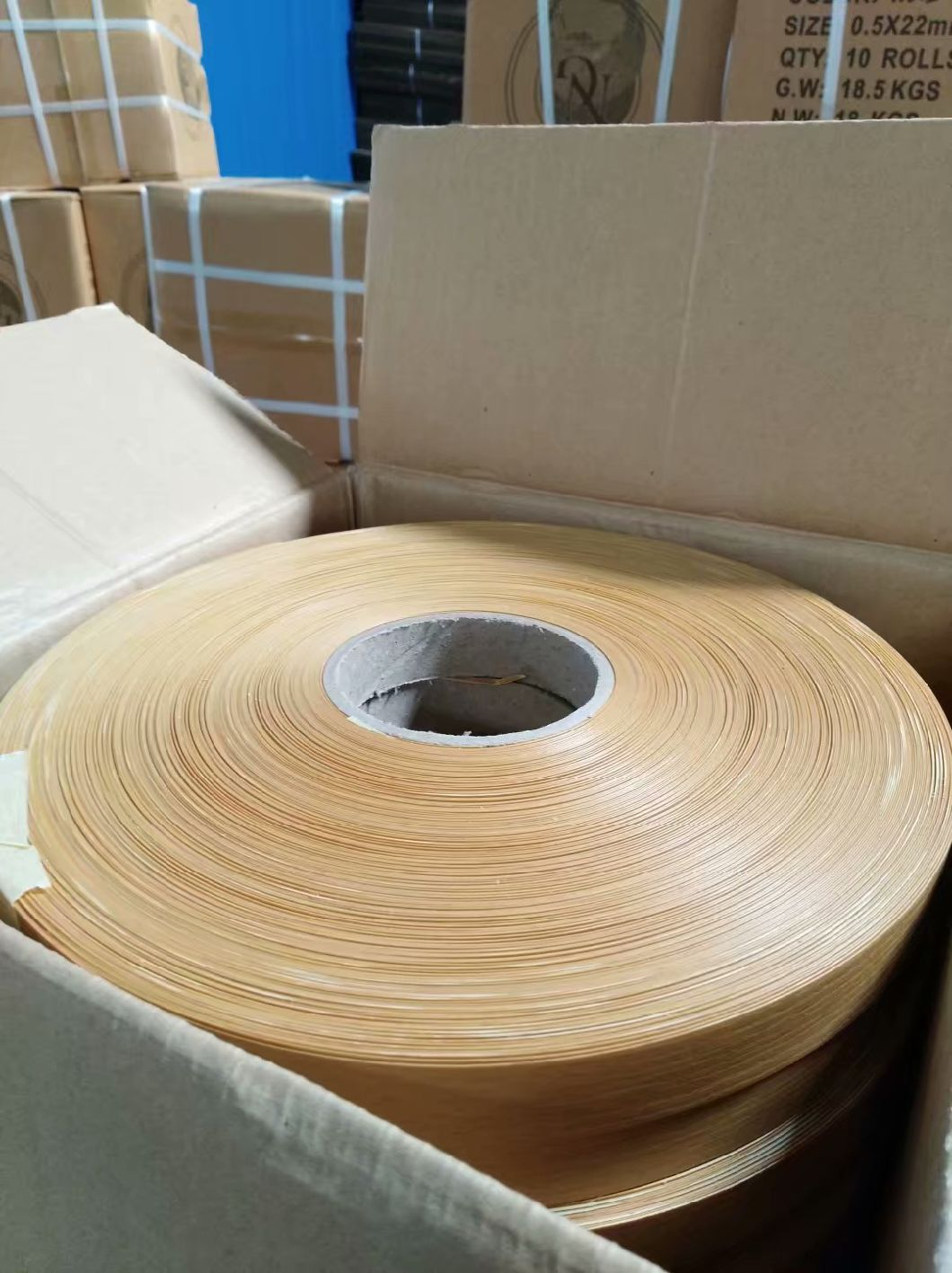 Natural Wood Veneer Edge Banding Tape  JH-004
