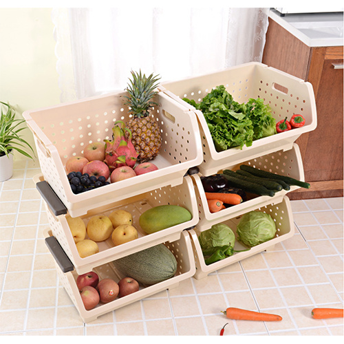 Household Kitchen Cabinet Shelf Organizers/Kitchen Storage Foods Basket/Fruits and Vegetables to Dry  HC-1605