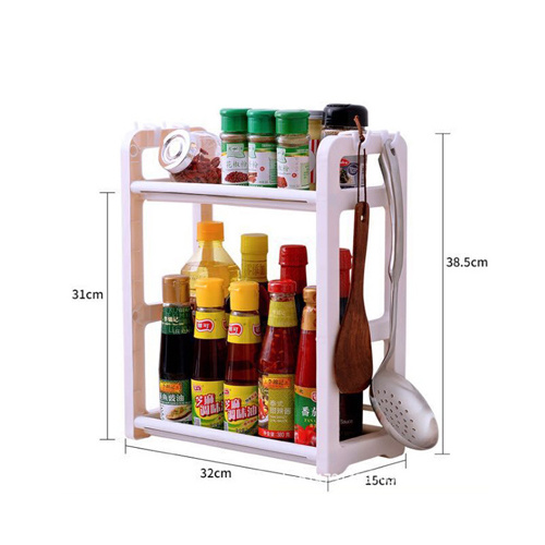 Kitchen Stacks, Plastic Spice Shelves, Seasoning Appliances Household Chopsticks HC-004