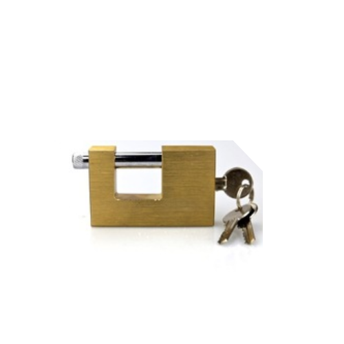 top security brass ractangular padlock   P120