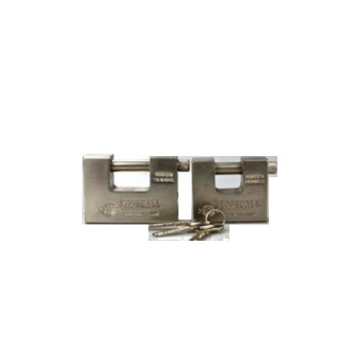 heavy security steel ractangular padlock   P119