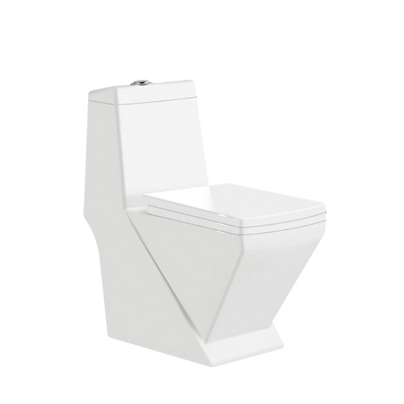 Bathroom one piece wc cheap price big size toilet  M9024