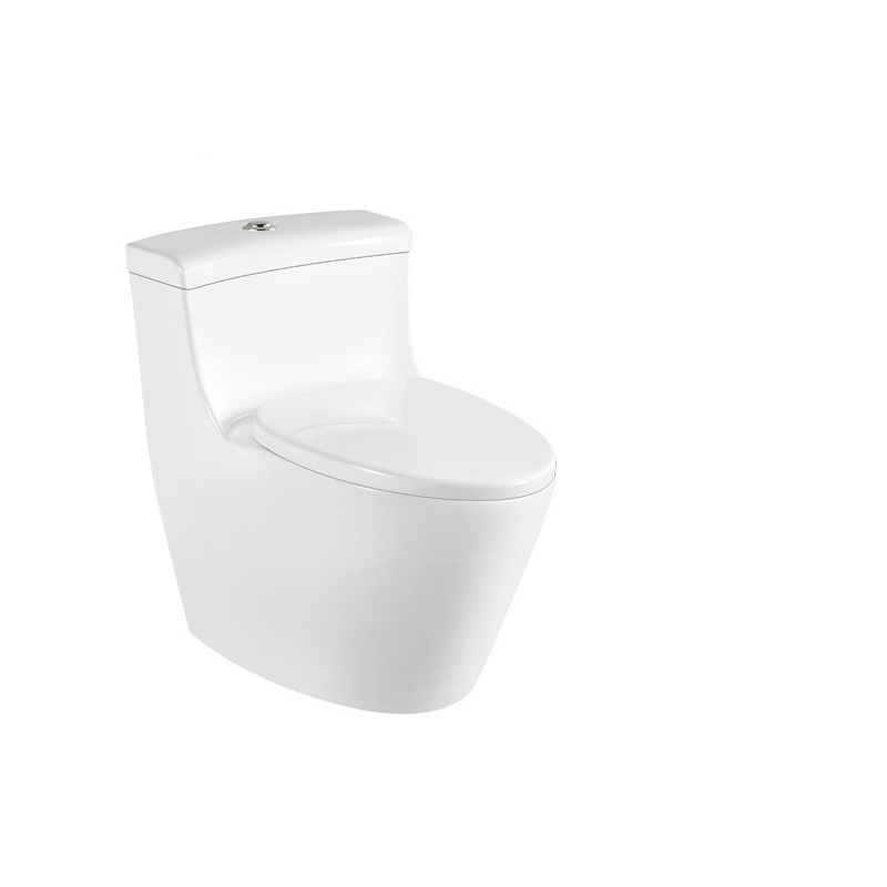 Ceramic Bathroom One Piece WC Toilet Seat M9028