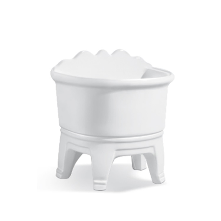 White high quality sanitary ware bathroom mop pool for sale SJ-310