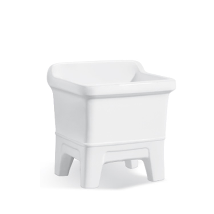 New design washing bathroom ceramic deep mop basin of bottom price SJ-311