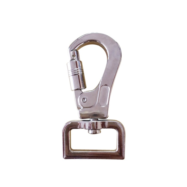 Zinc alloy Swivel Eye Snap Hook for dog leashes