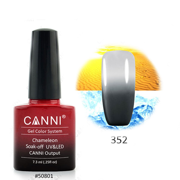 Chameleon Temperature Color Change Nail Gel Polish LED UV Gel Soak Off Lacqure Long Lasting Temperature gel nail polish