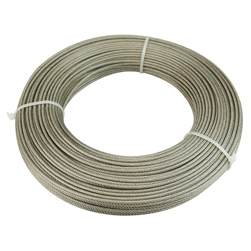 2mm - 40mm galvanized steel wire rope