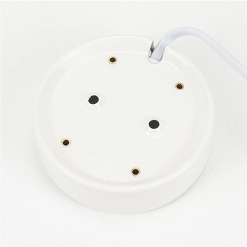 Customizable Cheap Gold/White Color E27 Plastic Lamp Holder