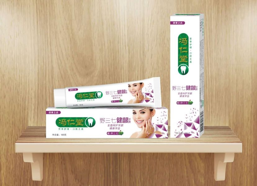 Natural Passion Fruit Tooth Paste / Cheap Guangzhou Toothpaste Manufacturer