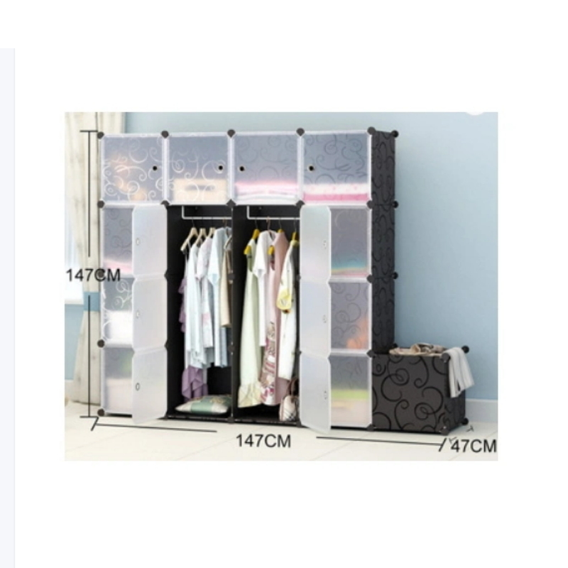 Portable Home Wardrobe Clothes Quilt Cabinet
