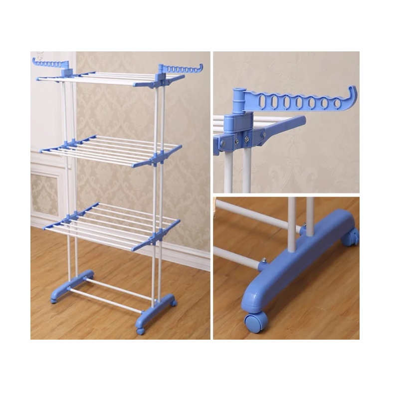 Telescopic Drying Clothes Rack