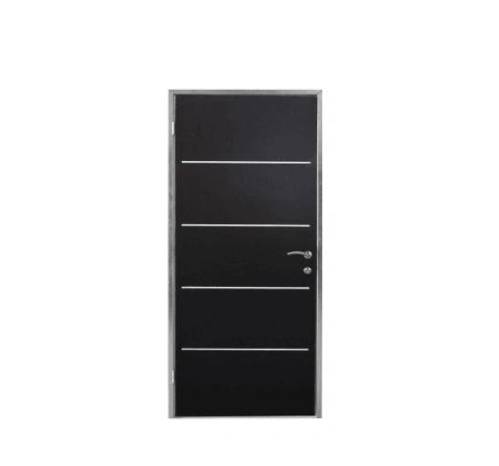 American Style White Color Israel Steel Door