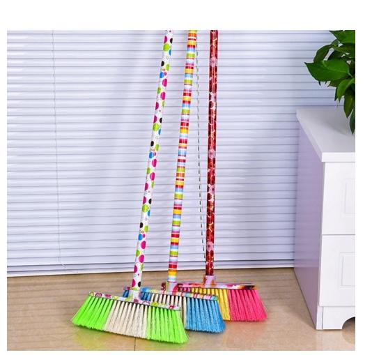 Long Lifespan Plastic Soft Fiber Cleaning Broom