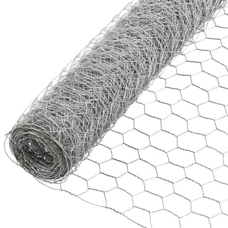 hot dipped galvanzied hexagonal wire mesh   sw-081