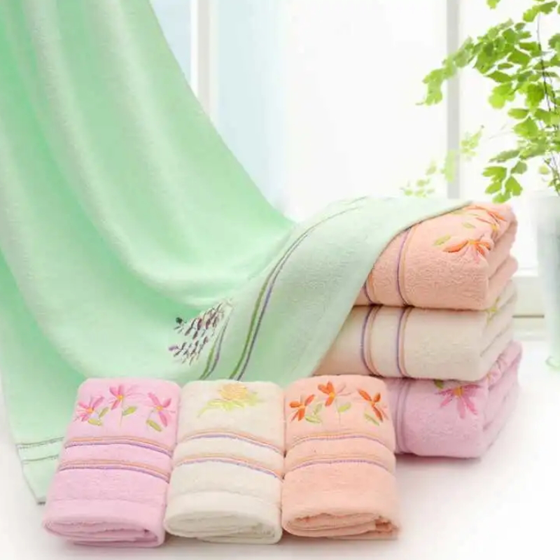 Wholesale Eco-Friendly Absorbent Microfiber Bath Towel Softextile