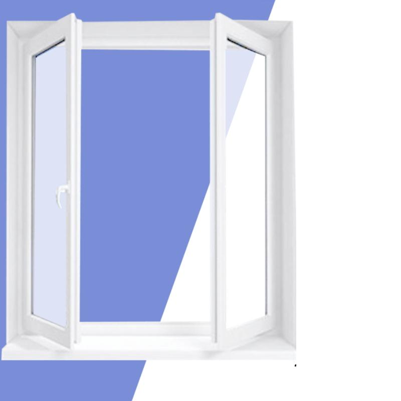 double-layer vacuum soundproof window