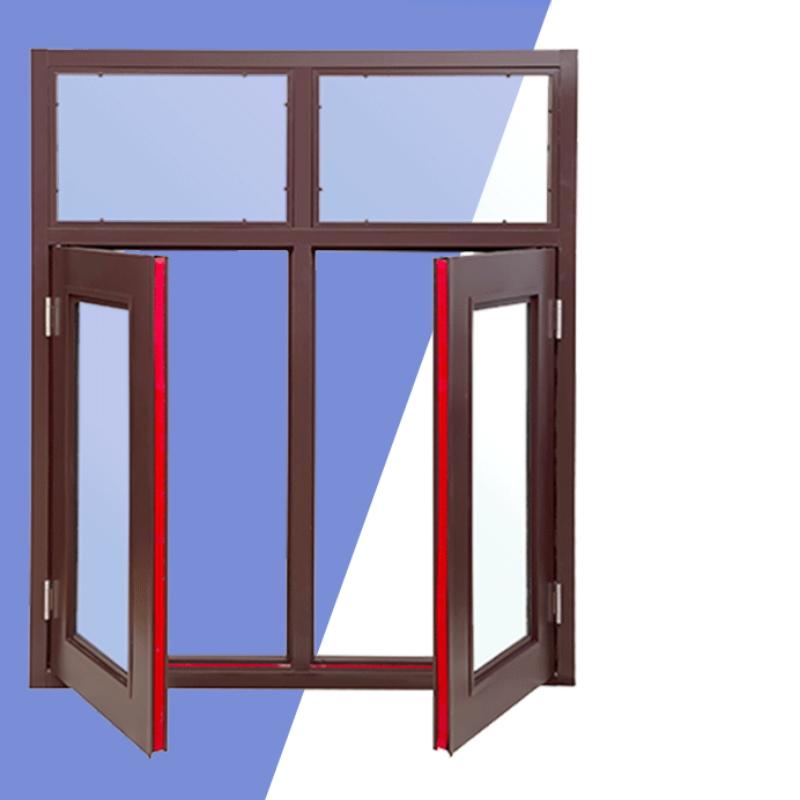 export movable steel fireproof window