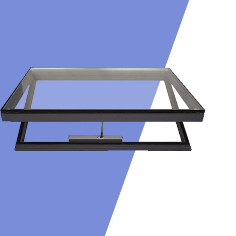 sound insulation, heat insulation aluminum alloy smoke exhaust skylight