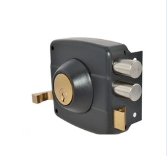 Top Security Lock Iron Door Lock Rim Door Lock