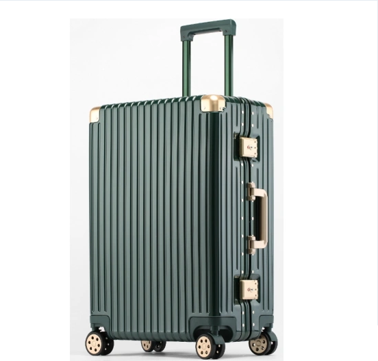 Promotional Gifts Trolley Plane Luggage and Cabin Airport Luggage ABS+PC Trolley Suitcase with High Quality