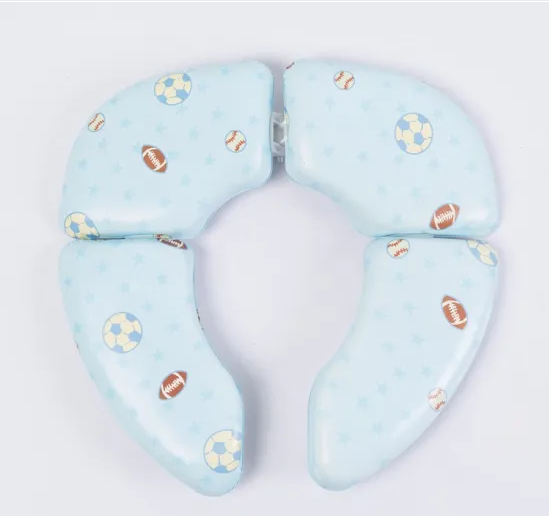 Eco-Friendly and Cute Soft Baby Toilet Seat