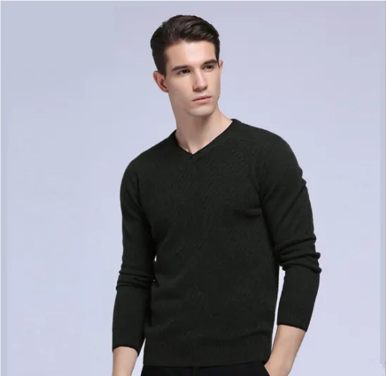 Mens Pullover Soft-Touch Finish Knitted Woolen Men Sweater