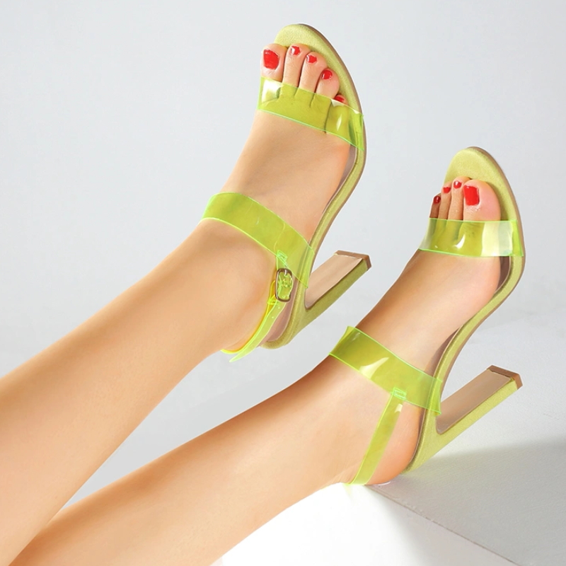 High Quality Sandal High Heel Shoes Made in China Women Slippers