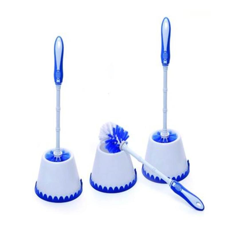 Household Cleaning Plastic Toilet Brush with Holder Toilet Brush
