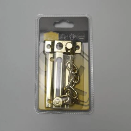 Brass Plated Chain Door Guard Made in China