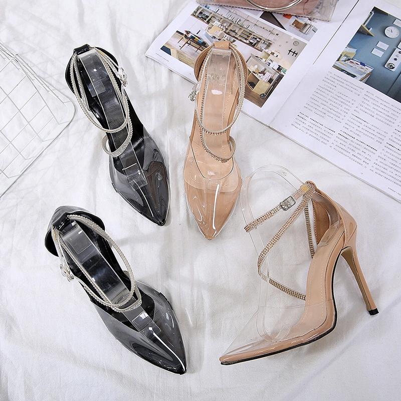 New Arrival Sexy Bandage Women High Heel Shoes