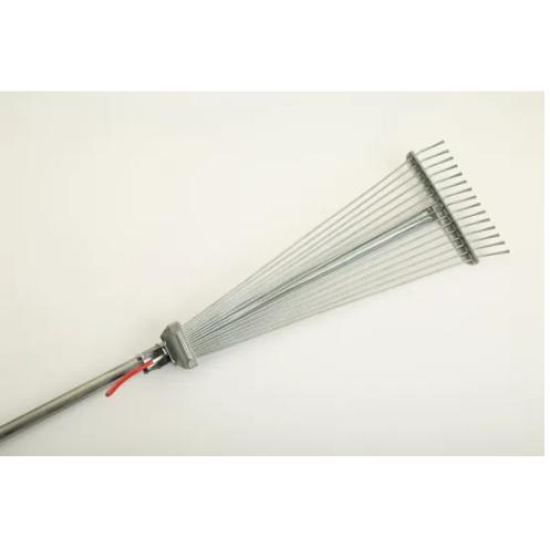 Adjustable Leaf Rake with 15 Teeth (SG-081R)