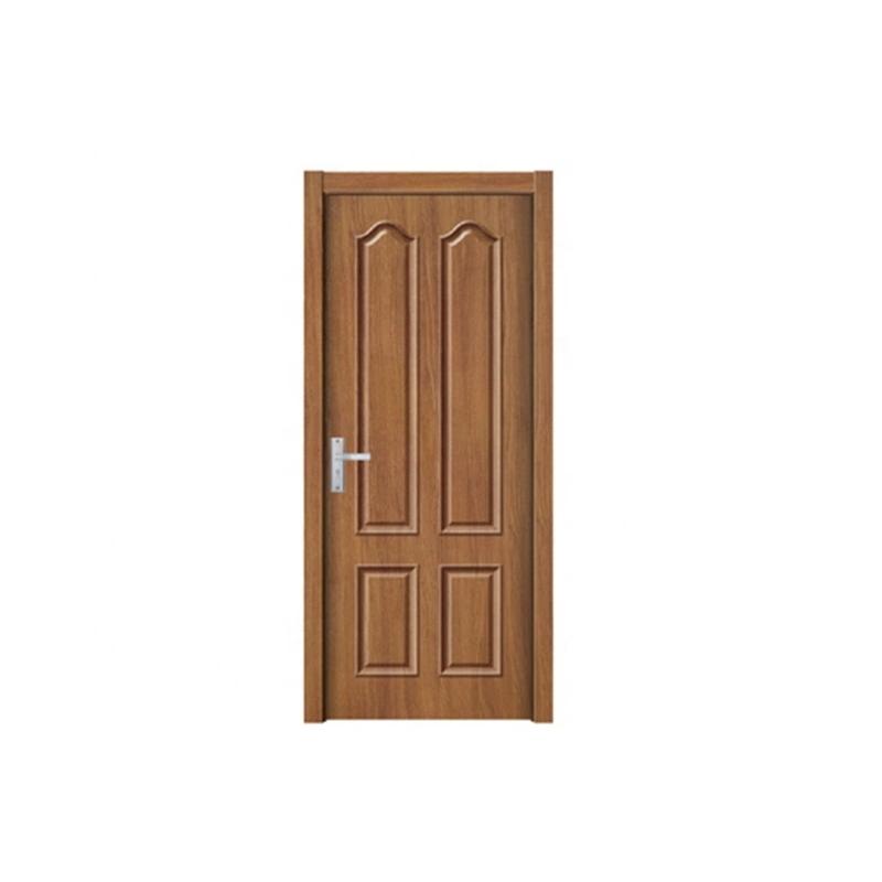 PVC Doors Hot Sale Interior Wooden Door Building Material