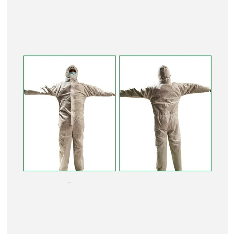 Disposable Medical Coverall Nonwoven Protective Clothing and Medical Coveralls