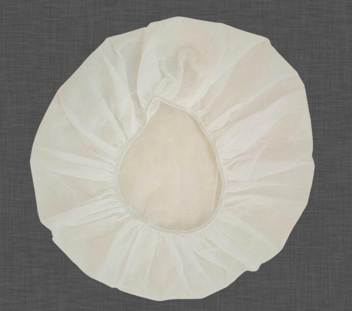 Medical Disposable Non-Woven Nurse Bouffant Round Cap